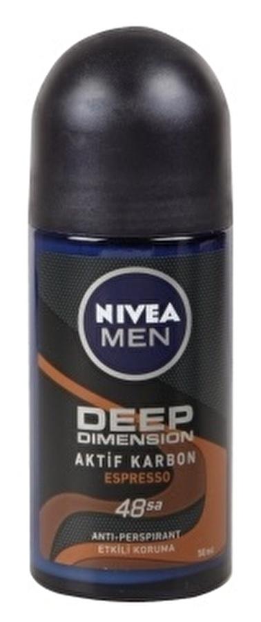 Nivea Nivea Men Deep Dimension Espresso Roll-on 50 ml Renksiz